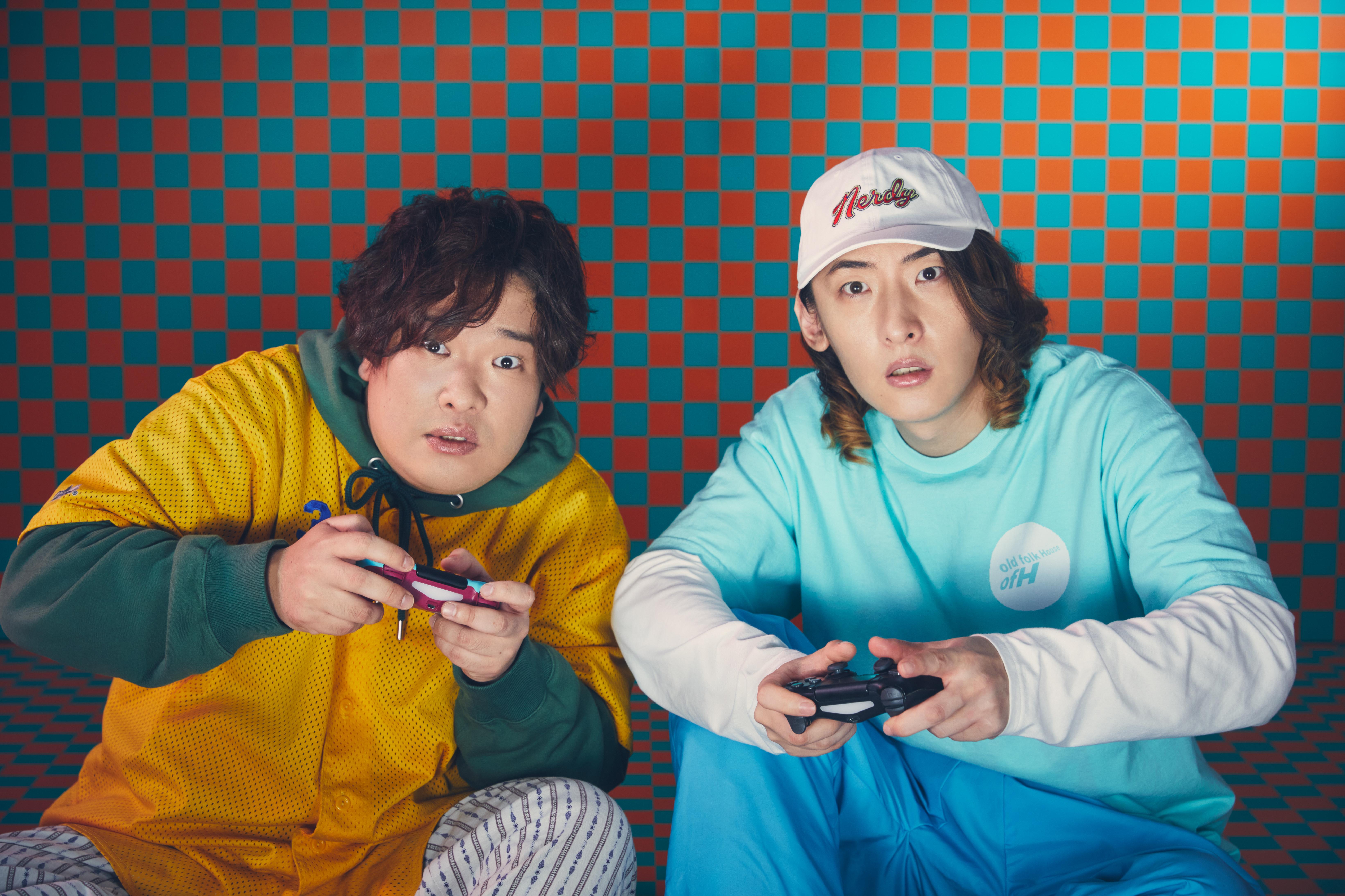 ビッケブランカ VS 岡崎体育、ニューシングル「化かしHOUR NIGHT」を10月28日(水)に発売