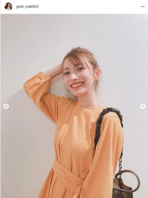 後藤真希、笑顔のポニーテール×秋色ワンピースSHOTに「最強に可愛い」「スタイル良い」サムネイル画像