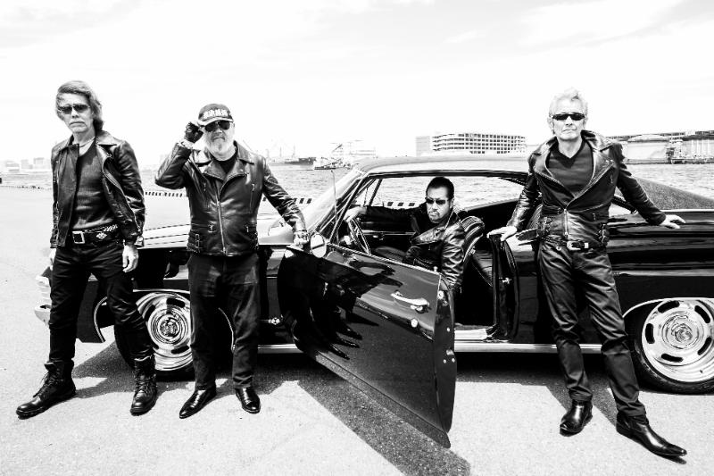 横浜銀蝿40th、最新シングル「昭和火の玉ボーイ」ミュージックビデオが公開サムネイル画像