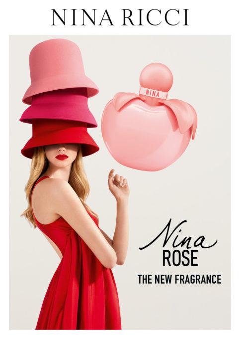 ニナ リッチ パルファムより、ローズの新鮮さと陽気さを包み込んだ「ニナ ローズ オーデトワレ」発売