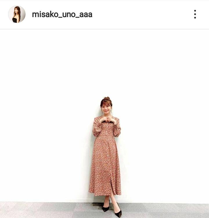 AAA宇野実彩子、美スタイルのガーリーなワンピSHOTに「綺麗すぎます」「なんでも似合って羨ましい」