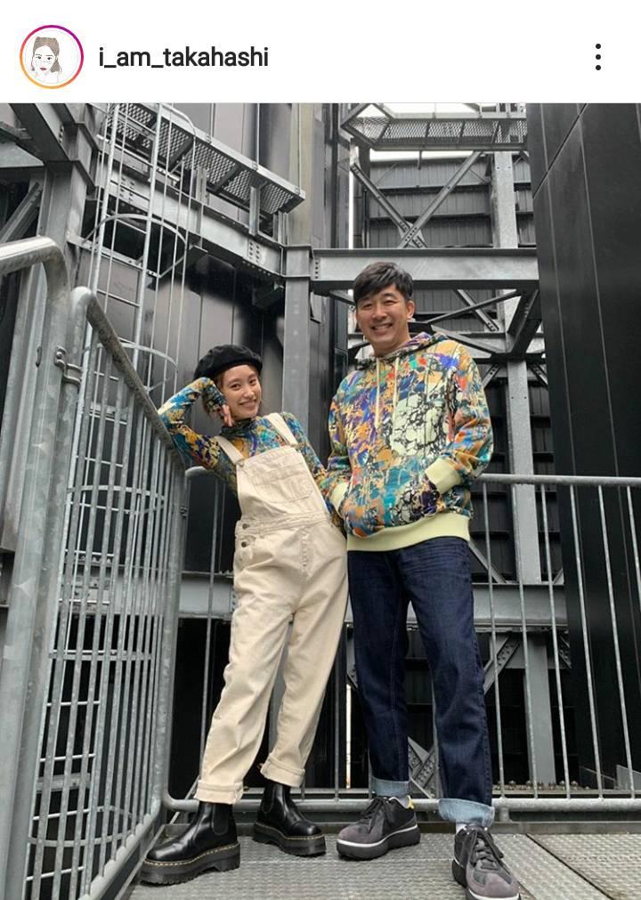 高橋愛、夫・あべこうじとの夫婦2SHOT公開&幸せな心境綴り「愛に溢れた2人」「憧れます」の声