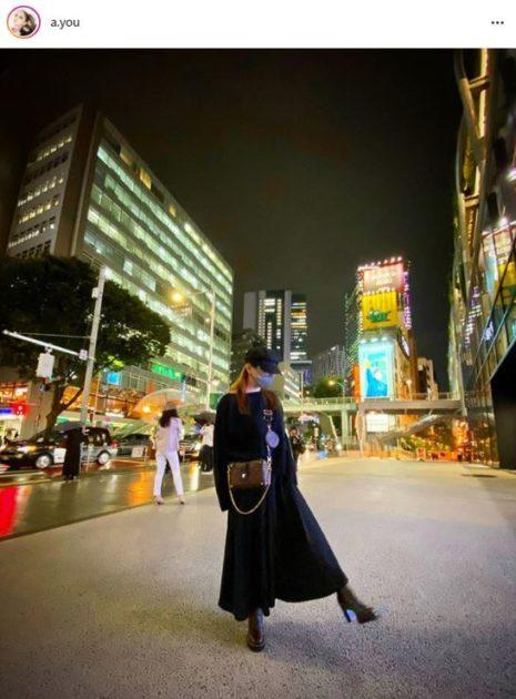 浜崎あゆみ、ブラックコーデの夜景SHOTに反響「超かっこいい」「お洒落で可愛い」サムネイル画像