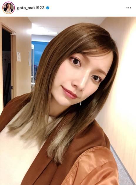 「年々若くなってる」後藤真希、秋コーデの目力SHOTにファン反響「顔が綺麗」サムネイル画像