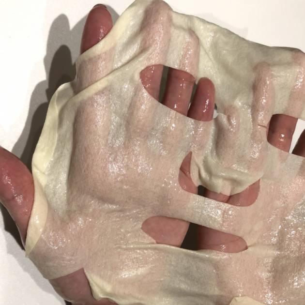 ビタミンカラーのマスク