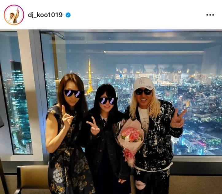 「そっくりですね」DJ KOO、娘の21歳誕生日を報告&現在と過去の家族写真を公開し反響「素敵なご家族」