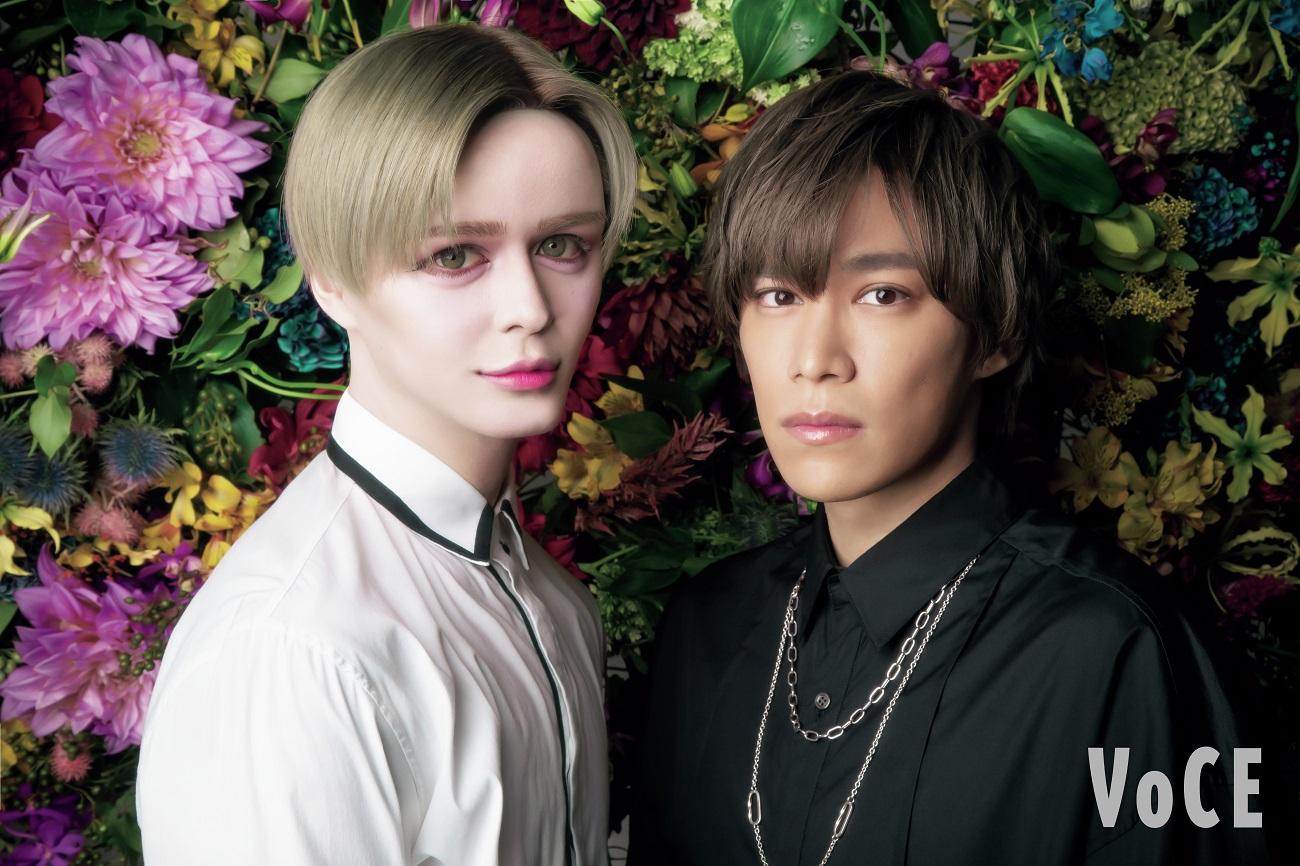 キスマイ千賀健永&Matt、初めてのツーショット撮影にはにかみ