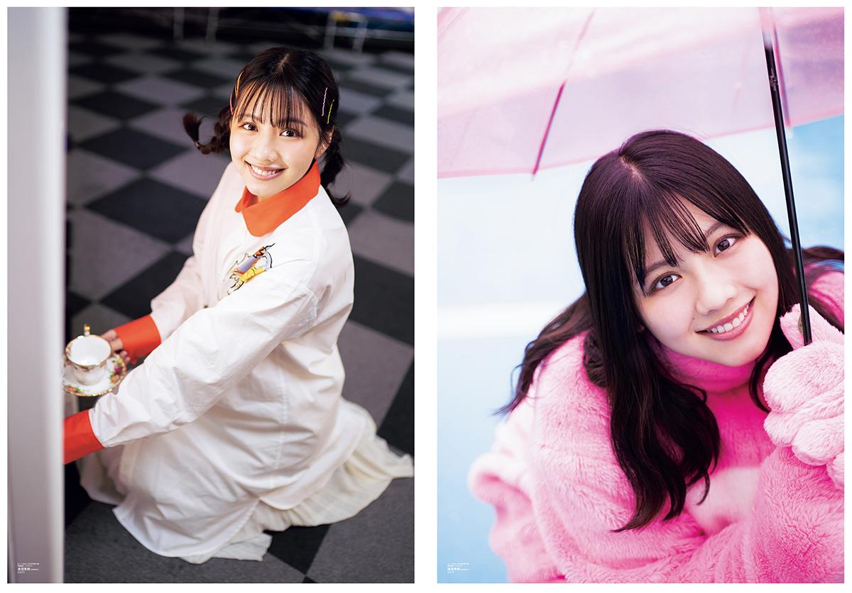 日向坂46・渡邉美穂、愛くるしい笑顔SHOTを複数公開
