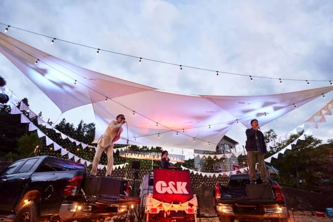 C&K、新ミニアルバム「御社のCMソング」初回限定盤DVD・初のドライブインライブのダイジェスト映像を公開