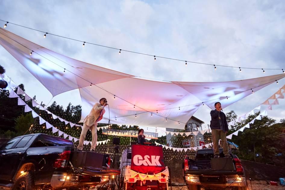 C&K、新ミニアルバム「御社のCMソング」初回限定盤DVD・初のドライブインライブのダイジェスト映像を公開サムネイル画像
