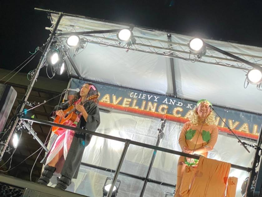 C&K、地元・鹿児島にてソーシャルディスタンスのもとドライブインライブハロウィンパーティーを開催!禰豆子、アダムとイブ、大ヒット韓国ドラマ主人公キム・ミソ、コナンの仮装で大熱演!サムネイル画像