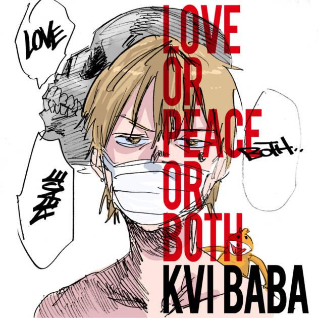 """Kvi Baba、4th EP『LOVE or PEACE or BOTH』からの先行配信曲 """"Sabaku No Daichi"""" feat. Fuji Taitoが配信スタートサムネイル画像"""