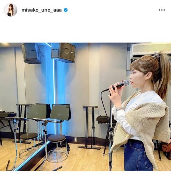 "AAA宇野実彩子、横顔の""歌唱SHOT""に反響「激カワ」「好きすぎる」サムネイル画像"