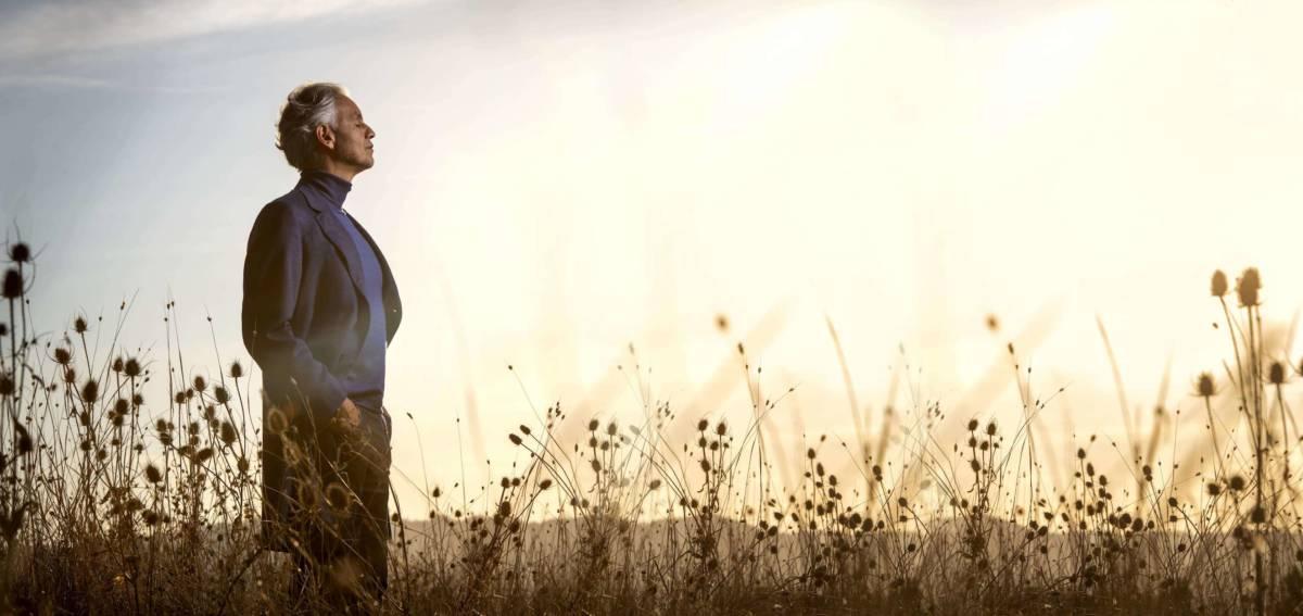 アンドレア・ボチェッリ、ニュー・アルバムからアリソン・クラウスとのデュエットによる「アメイジング・グレイス」MV公開サムネイル画像