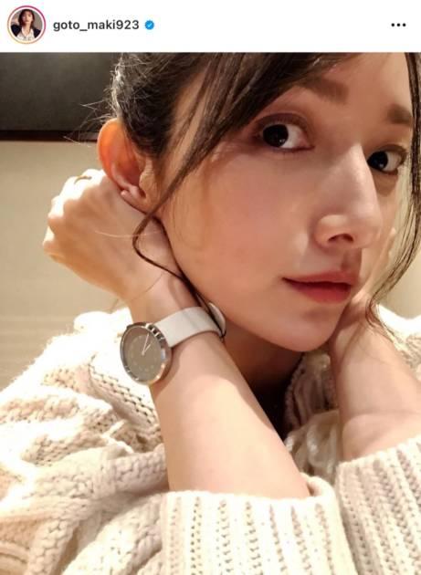 「髪めっちゃキレイ」後藤真希、2ヶ月ぶりのヘアカラー&カットを報告し反響「オシャレ」サムネイル画像