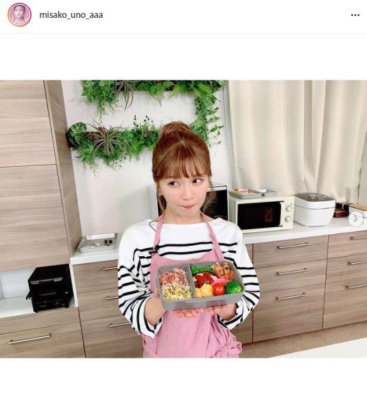 """AAA宇野実彩子、""""未来の旦那さん""""に向けた愛妻弁当を公開し反響「料理うますぎ!」「めっちゃ美味しそう」"""