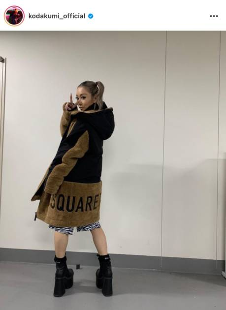 「脚キレイ」倖田來未、美脚きわ立つハーフパンツ姿にファン反響「可愛すぎ」サムネイル画像