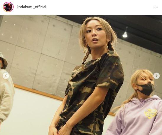 倖田來未『愛の不時着』風ファッションでのリハSHOTに反響「まさかのリさん風」「イケメン」サムネイル画像