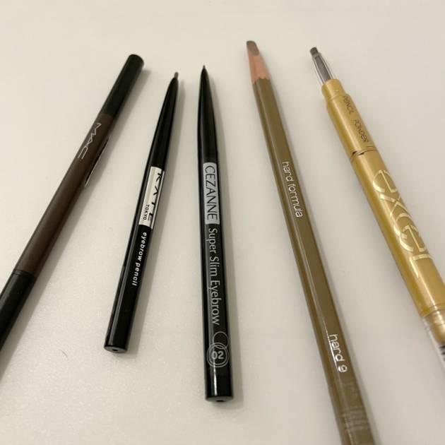 【プロが教える】アイブロウペンシルどれがいいの?人気製品比べて見ました!サムネイル画像