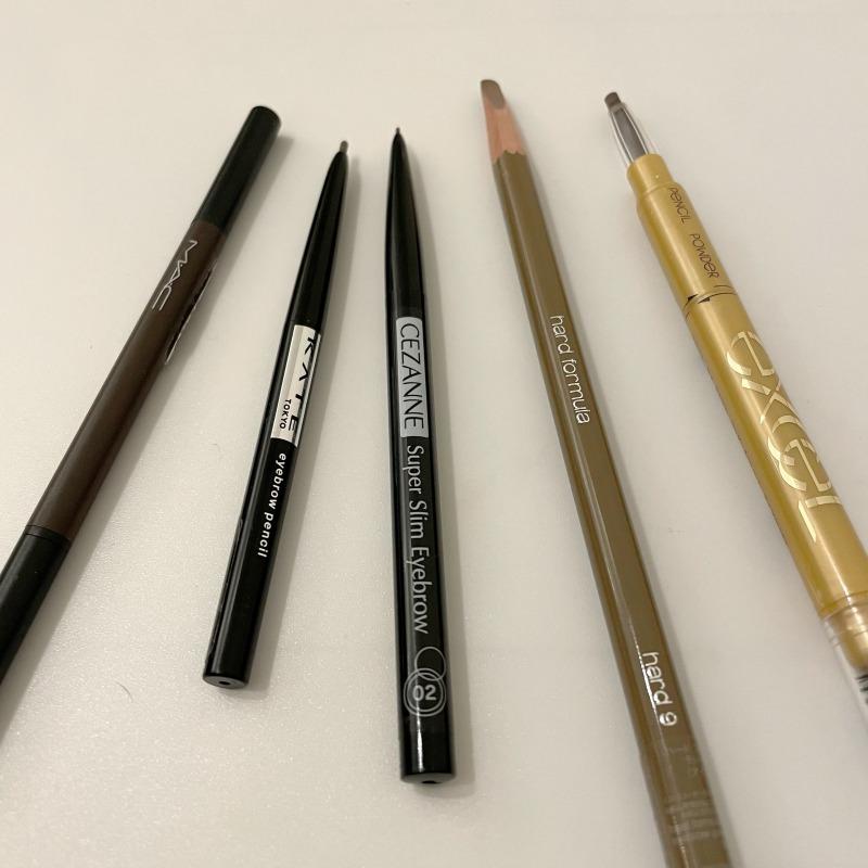 【プロが教える】アイブロウペンシルどれがいいの?人気製品比べて見ました!