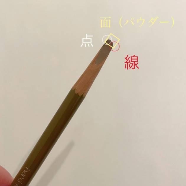 削って使う鉛筆タイプ