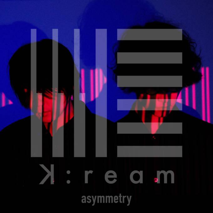 "K:ream、メジャー1st EP「asymmetry」収録楽曲 ""Blue"" のLive Music Videoを公開"