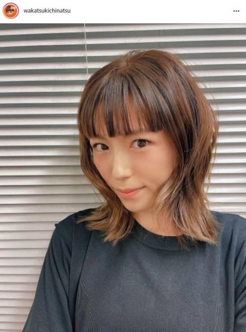 """若槻千夏、""""令和ウルフ""""のイメチェンSHOTに反響「雰囲気が違うね」「可愛いさ全開」"""