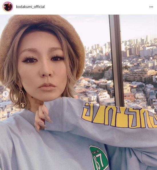 倖田來未、ヌーディリップ×アレンジヘアSHOTに絶賛の声「透明感!!」「エモみのかたまり」