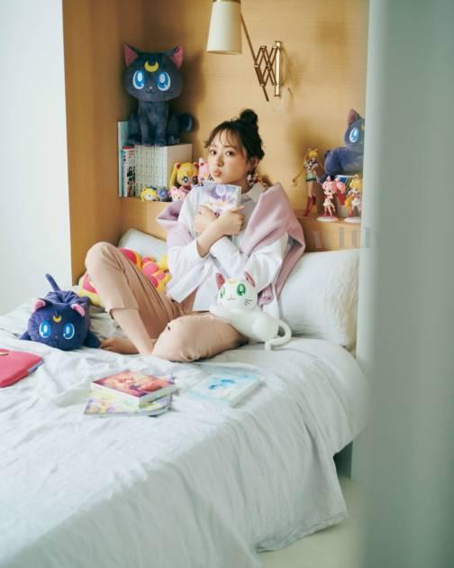 「こんなお部屋に住めたら最高!」乃木坂46・梅澤美波、大好きなものに囲まれたベッドSHOT公開サムネイル画像