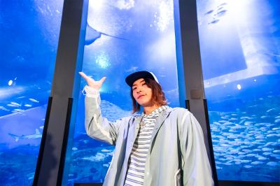 ビッケブランカ、普段では見られない貴重な水族館ライブがWOWOWでオンエア