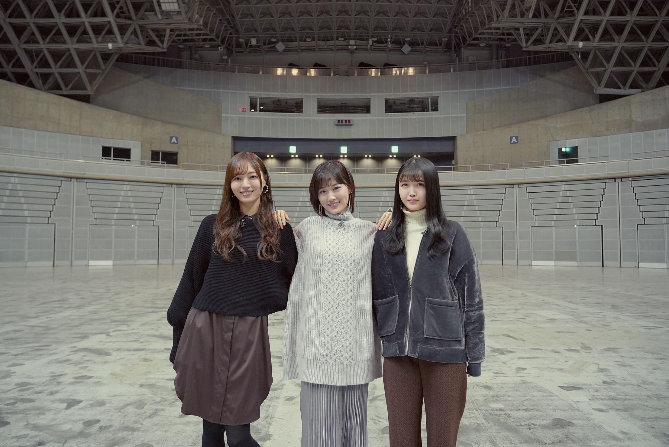 乃木坂46梅澤美波・久保史緒里・山下美月、それぞれの素顔に迫るドキュメンタリーが配信