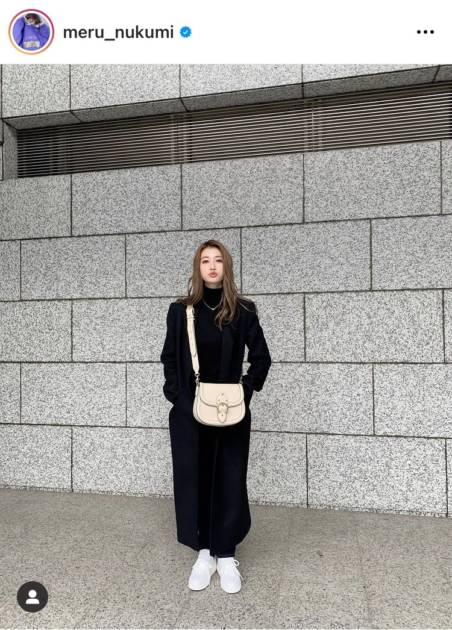 めるる、前髪なしのモノトーンコーデにファン絶賛「海外セレブみたい」「仕事できる女って感じ」サムネイル画像!