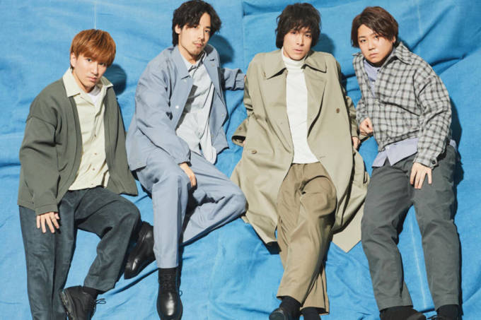 SHE'S、6thシングル『追い風』発売記念特番をLINE LIVEで生放送決定