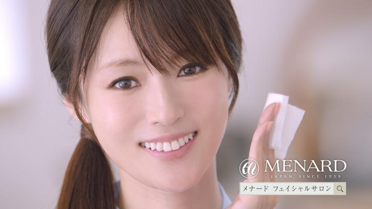 深田恭子出演、メナード フェイシャルサロン新CM『化粧品に出逢う』篇OA開始!サムネイル画像