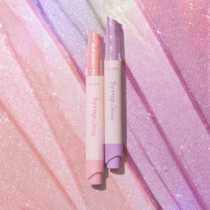 エチュード、日本限定カラーの透け感リップ『シロップグロッシーバーム』発売予定