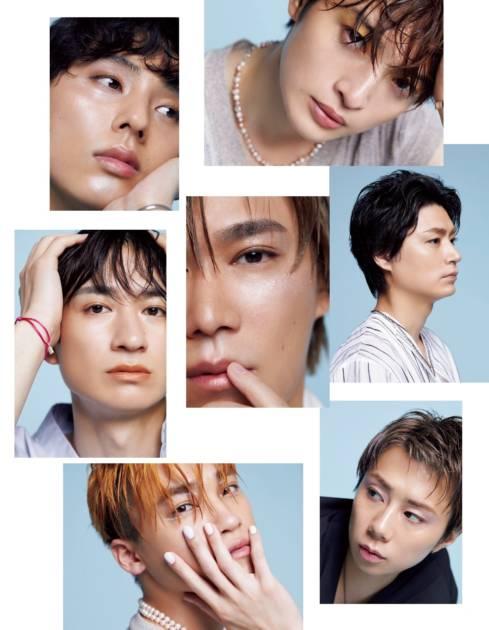 "Kis-My-Ft2、""メイク""をテーマにした7人の美ビジュアル披露サムネイル画像!"
