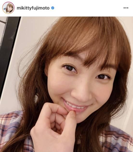 藤本美貴、36歳の誕生日を報告&美肌の笑顔SHOTに反響「メッチャ肌綺麗」「素敵すぎ」サムネイル画像