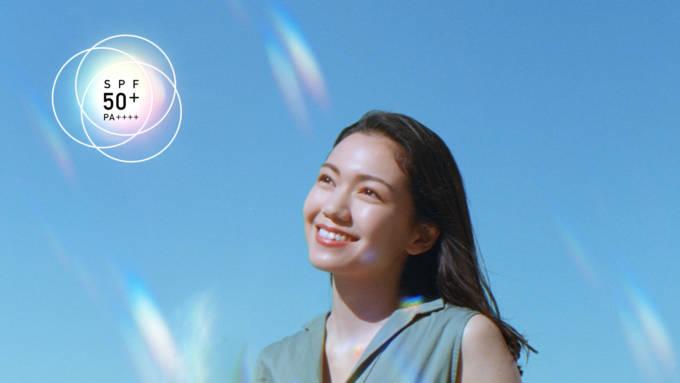 二階堂ふみが透明感溢れる美肌を披露!ビオレUVの「光拡散UV」新CM全国で放映開始