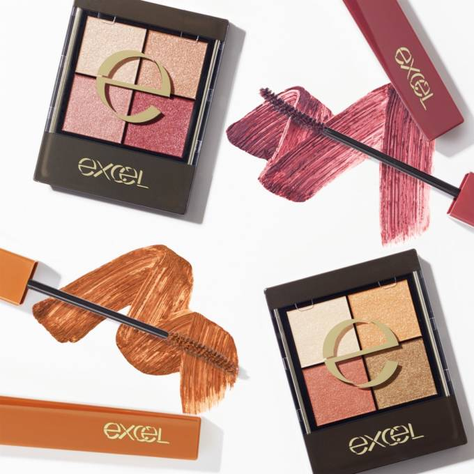 エクセルの春の新作!高保湿リップ新発売&ニュアンスカラーのアイシャドウ&マスカラや、やわらかに香る美容液UVも限定発売