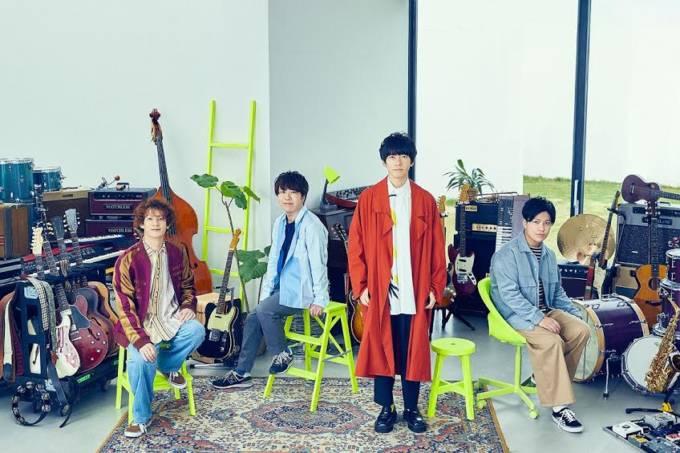 sumika、サード・フルアルバム「AMUSIC」CM第3弾にクリス・ペプラーが出演
