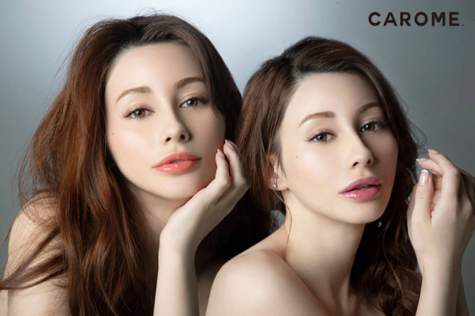 ダレノガレ明美プロデュース「CAROME.ブルーミングリップグロウ」春夏限定カラー登場