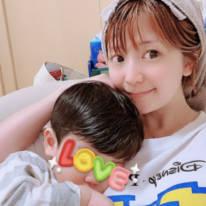 矢口真里、1歳8ヶ月の息子との2SHOT公開&夫への感謝を綴り「愛に溢れていて素敵」の声