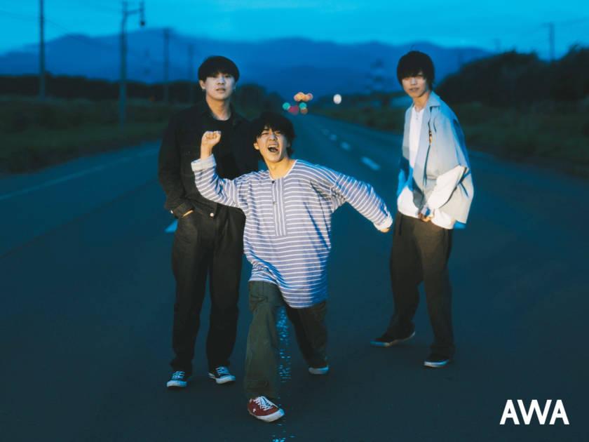 """3ピースロックバンド・KALMAが""""友達や恋人と車で聴きたい曲""""をテーマにプレイリストを「AWA」で公開サムネイル画像"""