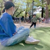 辻希美、長女と三男の公園2SHOT公開「希空やニィニも一緒に…」