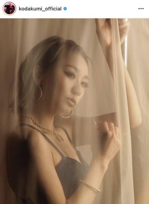 """倖田來未、""""ダイエットしててよかった""""美背中SHOT披露し反響「美でしかない」「芸術作品」"""
