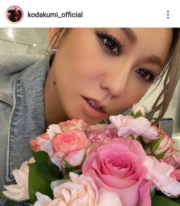 倖田來未、子供からの花束&手書きメッセージを公開し反響「いいお子さん!」「素敵家族」