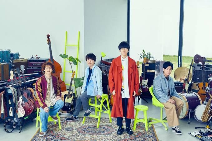 sumika、6月2日リリース両A面シングル収録曲「ナイトウォーカー」の初O.A.が決定