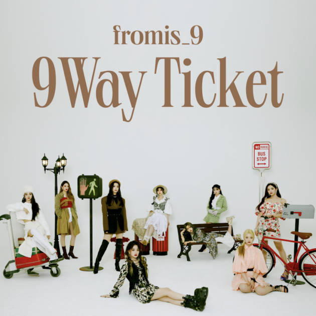 fromis_9、The 2nd Single Album「9 WAY TICKET」日本オリジナル特典付き販売が決定サムネイル画像!
