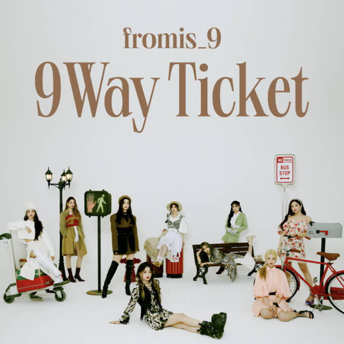 fromis_9、The 2nd Single Album「9 WAY TICKET」日本オリジナル特典付き販売が決定