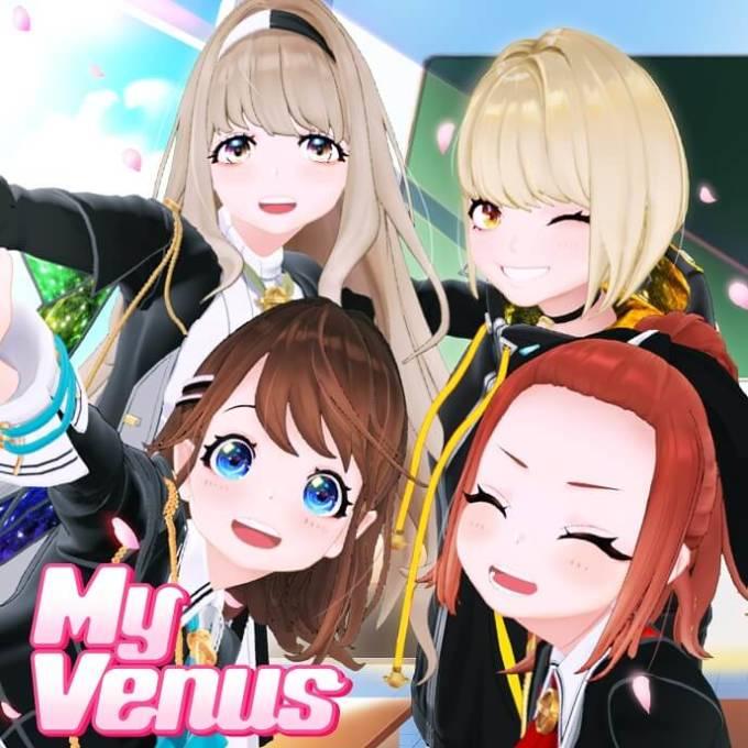 まりなす、6週連続アルバム先行配信 第2弾『My Venus』が配信開始